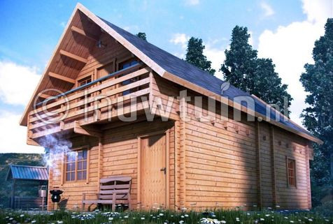 Weekend Chalet Verona 70mm 100m2